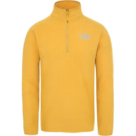 The North Face 100 Glacier 1/4 Cremallera Hombre, citrine yellow